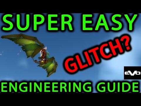 INSANELY EASY Max Engineering in 10mins Guide | WoW 6.0.3