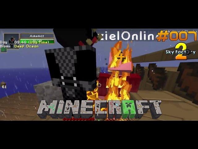 Let's Play Minecraft Sky-Factory 2 | Der Tödliche Cobble-Generator | Folge #007