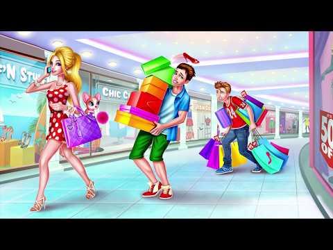 игры для девочек шоппинг по магазинам много денег