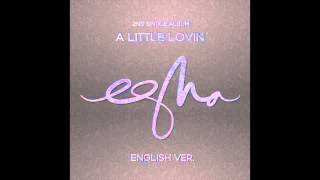 "Cover images ""A Little Lovin"" English ver. by eSNa (에스나, 윤빛나라)"