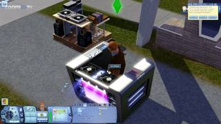 The Sims 3 Showtime - New objects in buy mode (Gameplay 1080p)