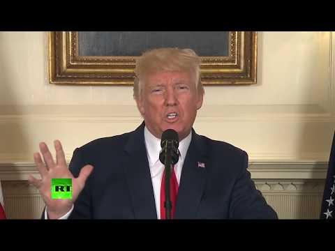 'Racism is evil': Trump denounces KKK and neo-Nazis (STREAMED LIVE)