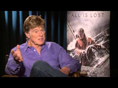 All is Lost Interview: Robert Redford Sits Down with Sasha Perl-Raver