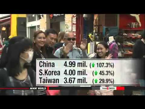 Japan welcomed record number of visitors in 2015