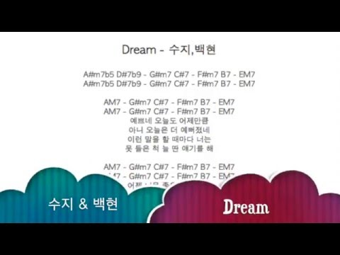 Miss A Suzy Exo Baekhyun Dream Original Key