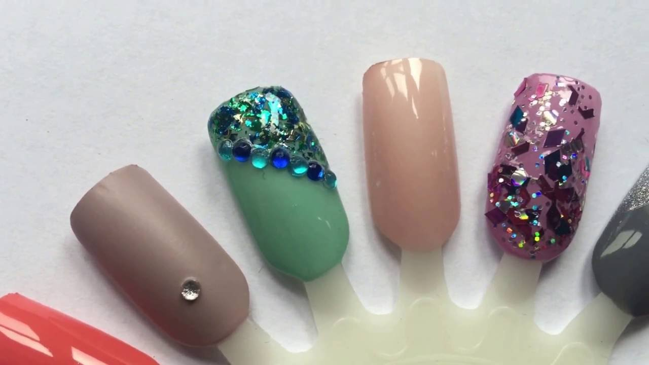 Just Essentials | Prom Nail Art Inspiration - YouTube