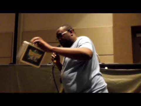 Andre Meadows The Black Nerd at Game On Expo 2017