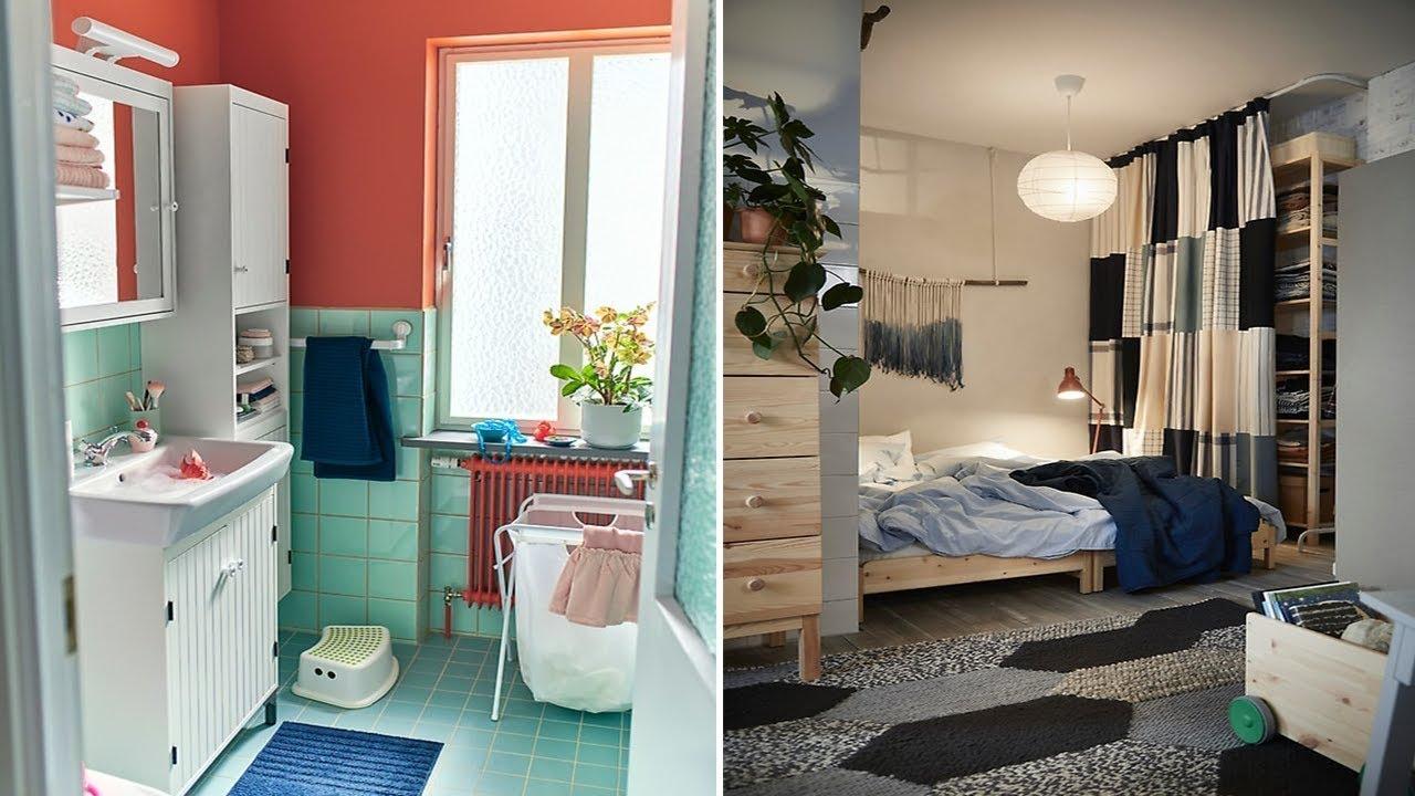 Ikea Inspiration Small Spaces Ideas Youtube