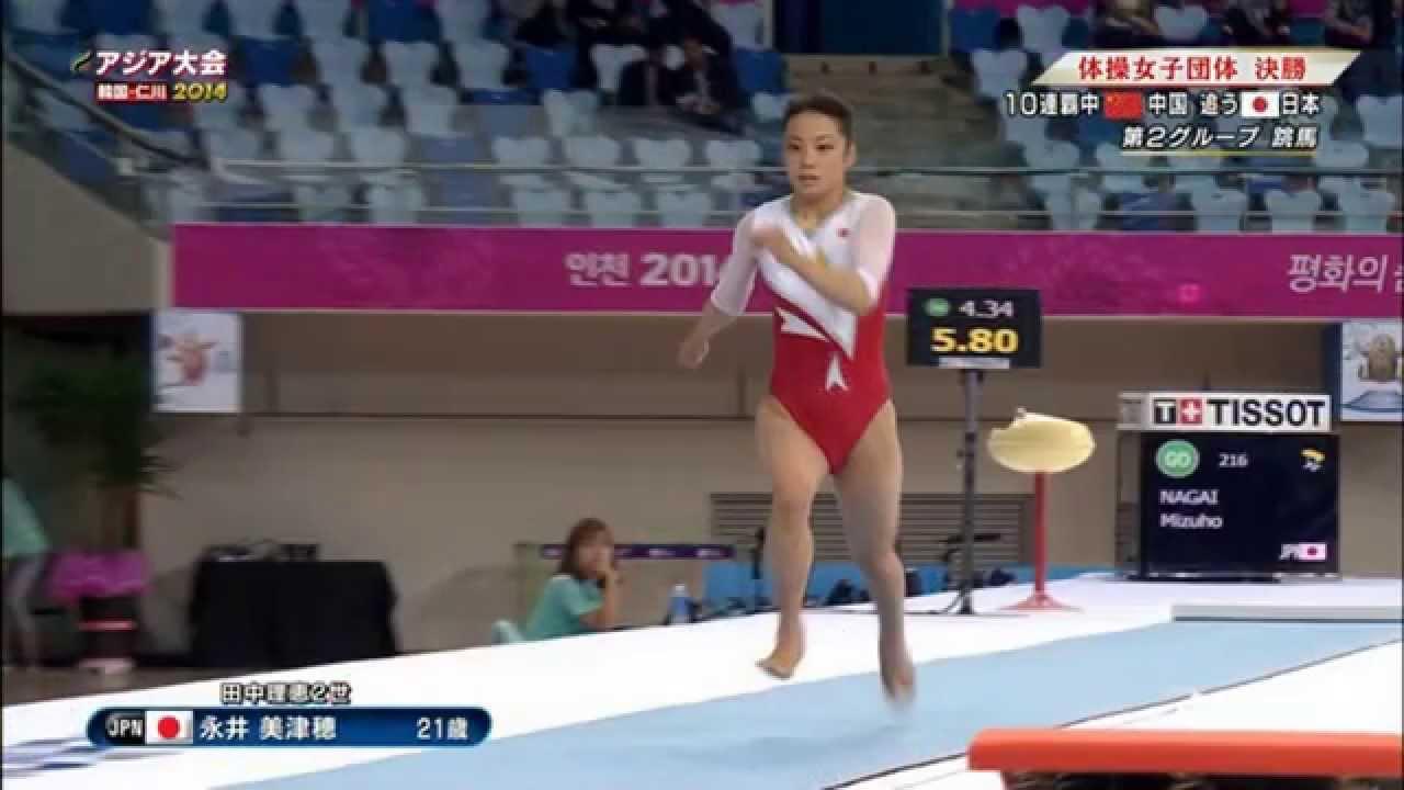 【速報】永井美津穂選手アジア大会体操女子で銅メダル美人すぎる
