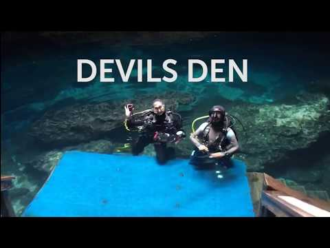 Florida Underwater: Scuba Diving Devil's Den, Ginnie Springs, Rainbow River and Blue Grotto