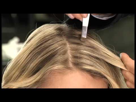 Graue haare ansatz verstecken