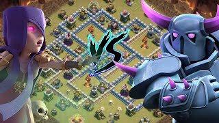 Was ist stärker | Hexen oder Pekka ? 3 Sterne Angriffe mit Rathaus 12 | Clash of Clans deutsch