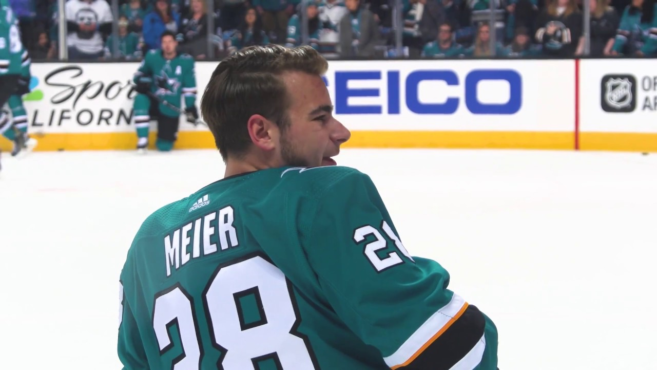 Mic d Up  Timo Meier vs Ducks - YouTube 946eff8d1