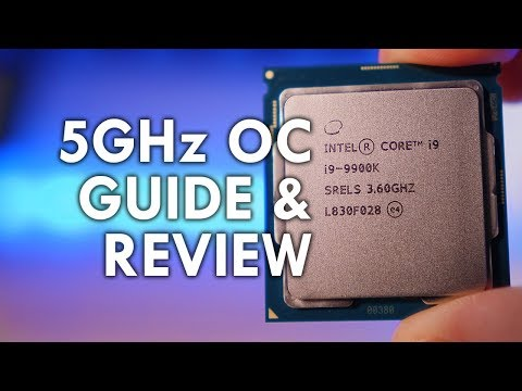 How to Overclock i9-9900k to 5GHz - Gaming Performance & Temperatures