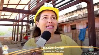 Em meados de 2017 prefeita Mônica fala sobre os prazos que seria para o início de 2018