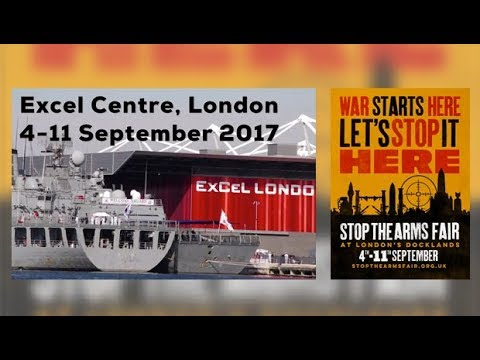 Warlords of the World Assemble at UK Arms Fair