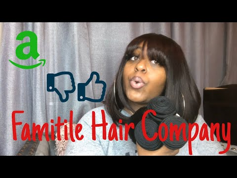 Famitile Hair Company Unboxing Review Amazon