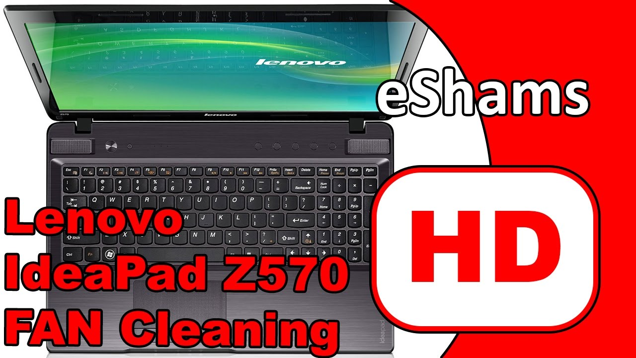 Replacement of thermal grease on Lenovo Z570 notebook: Instruction