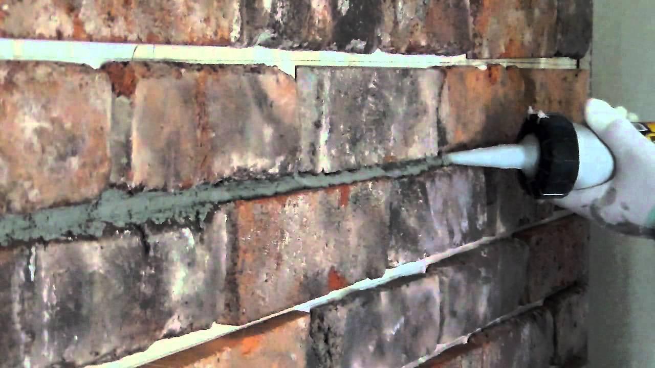 Ogromny Fugowanie starej cegły - YouTube DB23