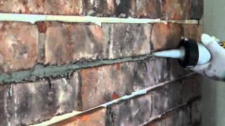 Fugowanie starej cegły