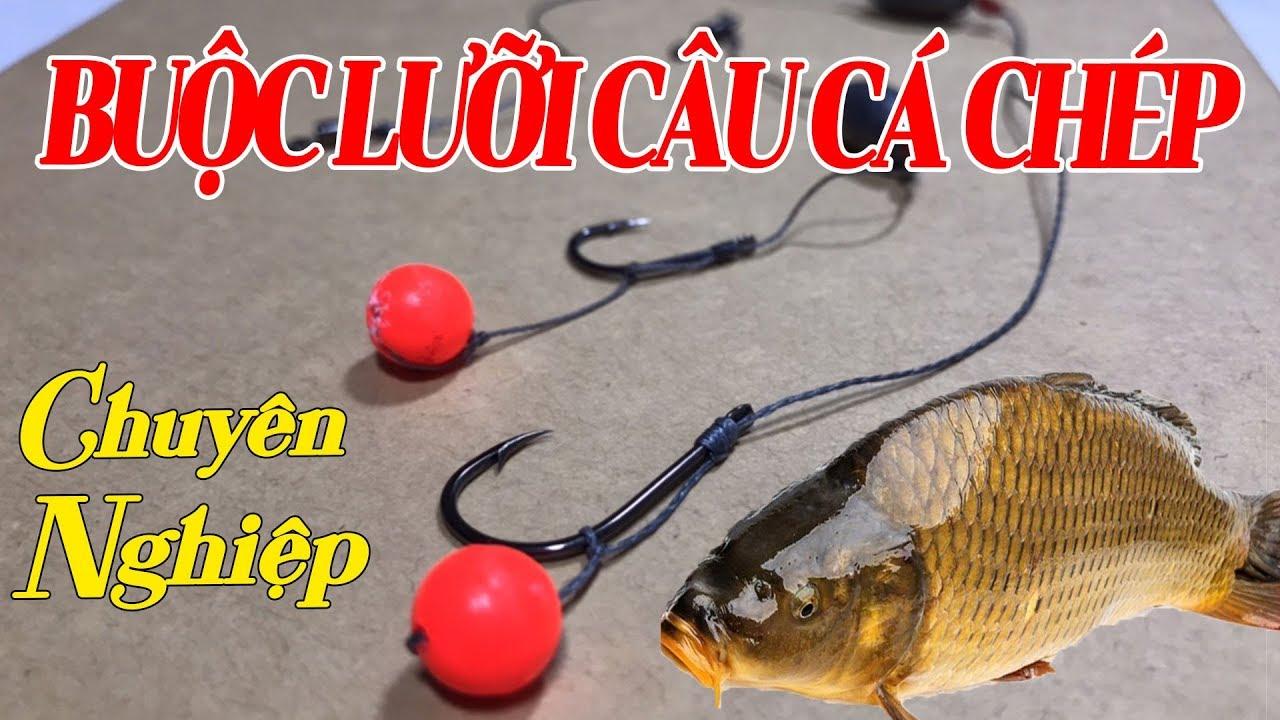 Cách Buộc Lưỡi Câu Cá Chép Chuyên Nghiệp – Bộ Câu 31 Cần Câu Cá Chép | Fishing Carp rigs