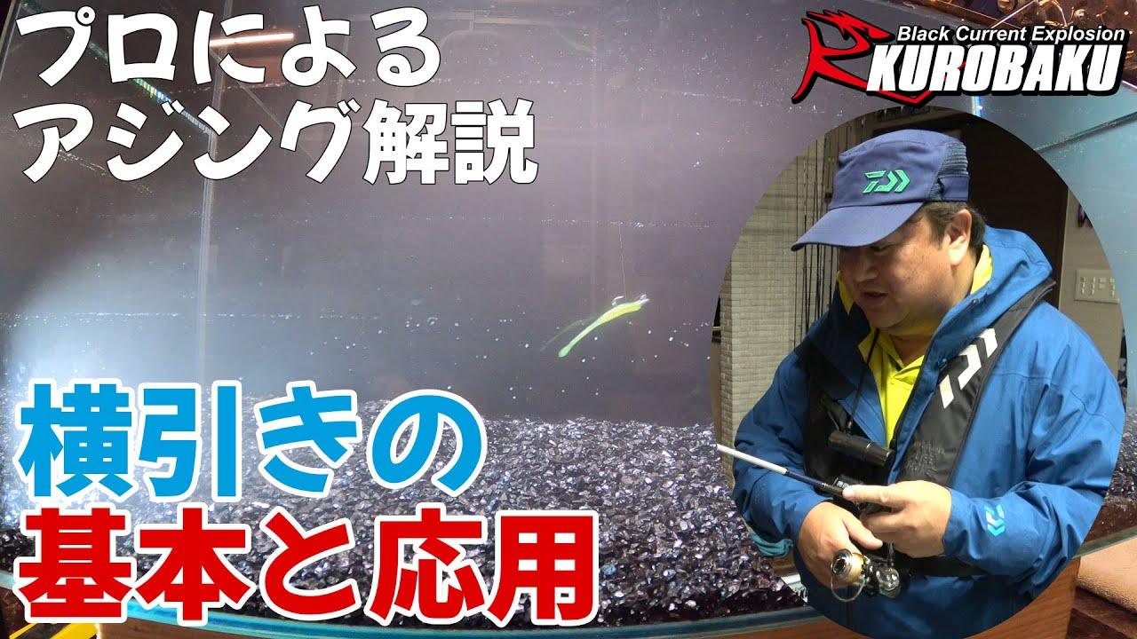 釣りのプロに教わるアジング解説 横引き編