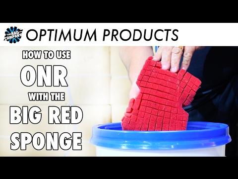 How Optimum No Rinse and The Big Red Sponge Work