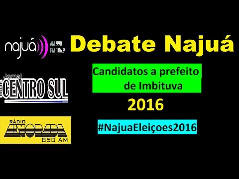 Debate dos candidatos a prefeito de Imbituva 14 09 16