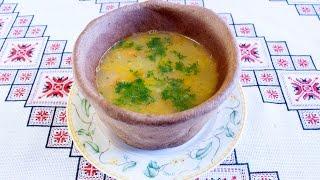 Гороховый суп в хлебных горшочках Как приготовить гороховый суп Суп гороховый рецепт Гороховий суп