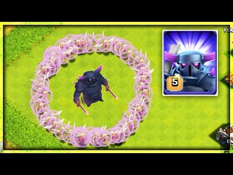 IMMORTAL PEKKA - CLASH OF CLANS ! | MASS HEALERS + 1 PEKKA | OMG! IT'S  IMMORTAL ! | COC | PEKKAWALK