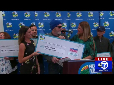 Lottery Winners From New York Share 23 4m In Prizes Youtube