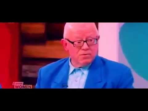 Ken Morley Loose Women Stuck in a time warp loop Race Controversy