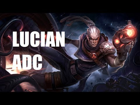 League of Legends - Hired Gun Lucian ADC - Full Game With Friends