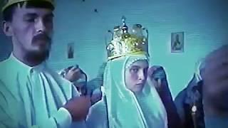 Свадьба.  Венчание  Загуляева Александра и  Можиной Галины. 15 июля 2001 год.