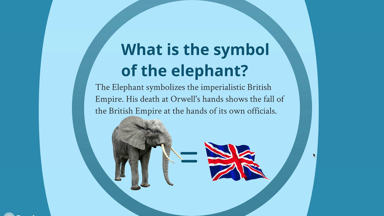 Symbols In Shooting An Elephant Youtube