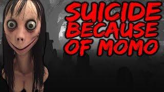 MOMO CHALLENGE made a 12 year old girl commit SUICIDE! #Momo
