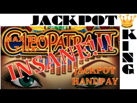 *HUGE* Cleopatra 2 *JACKPOT* 44X spin multiplier $6.00 MAX BET