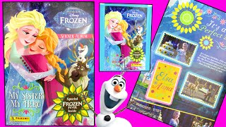 Frozen Fever Special Surprise Blind Bag Stickers & Album Toy Review Opening Panini