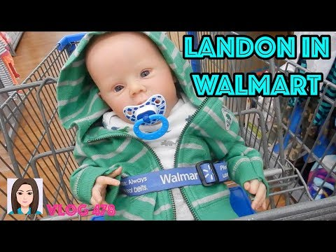 Vlof 478: Reborn Baby Landon In Walmart!