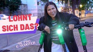 Challenge: 1 Nacht E-Scooter laden - so viel Geld habe ich verdient