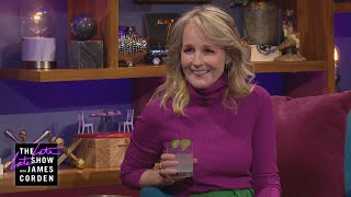 Helen Hunt Doesn't Show Up to a Party Empty Handed