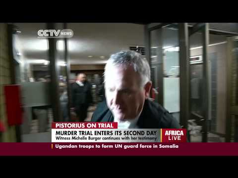 Pistorius Murder Trial Enters Its Second Day