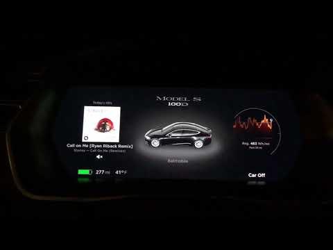 New Tesla MCU & UI! Latest Update is awesome!!!