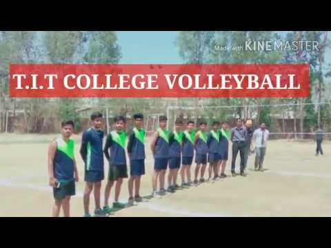 VOLLEYBALL TOURNAMENT  T.I.T college vs ORIENTAL college (Bhopal)