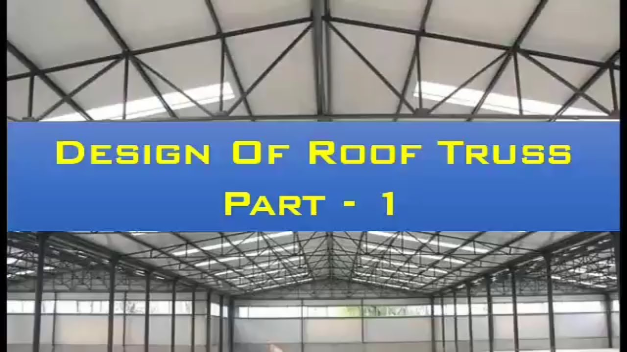 Components Of Roof Truss Youtube