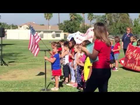 French Valley elementary school patriot day