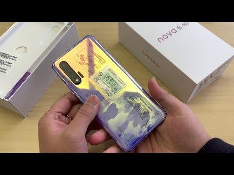 Huawei Nova 6 Unboxing & Review