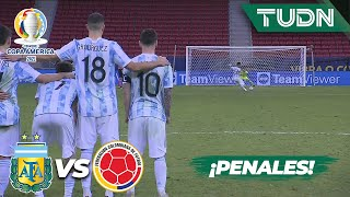 ¡Tanda de penales COMPLETA! | Argentina 1(3)-(2)1 Colombia | Copa América 2021 | Semifinal