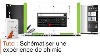 Tutoriel écran interactif : le mode chimie avec le logiciel pour écran interactif Iolaos