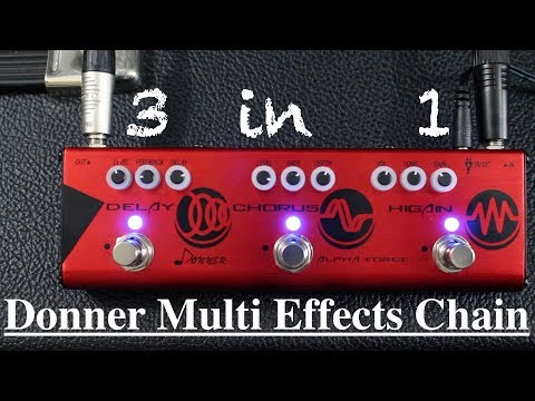 Donner Pedal Review - The Alpha Force!!
